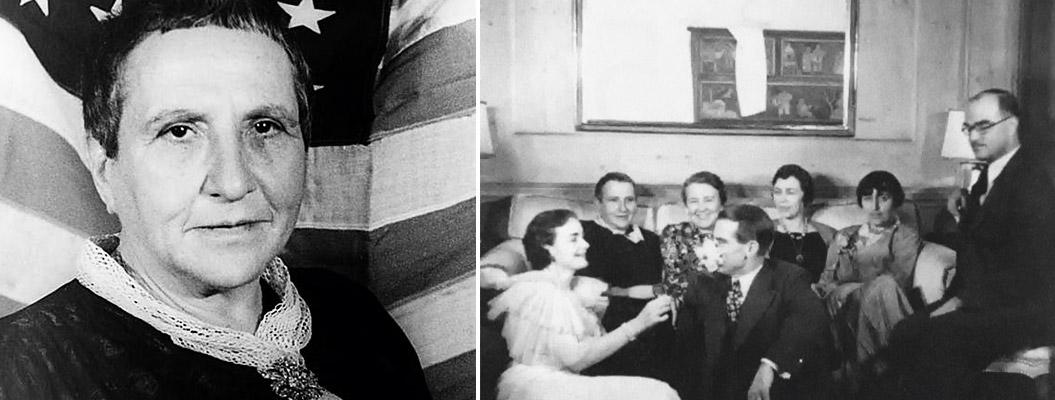 Две музы Гертруда Стайн фото