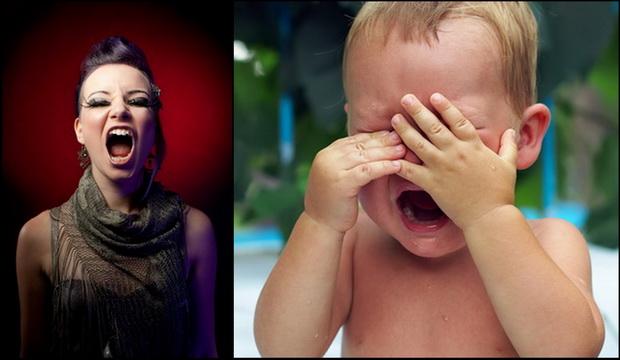 Плач ребенка фото