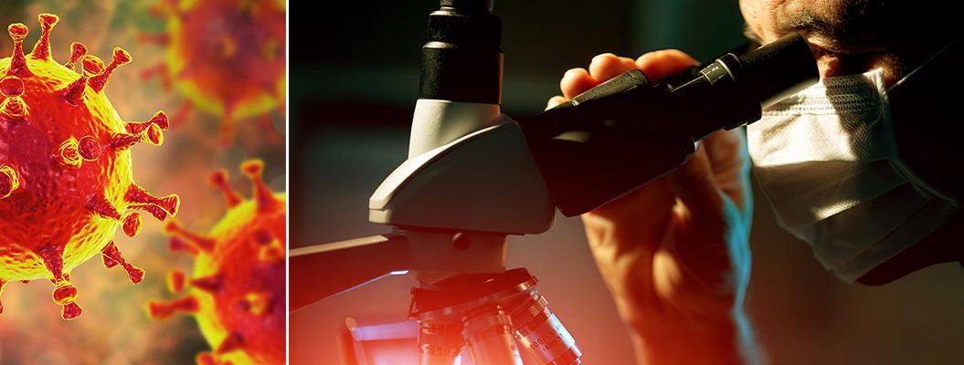 Небиологическое оружие против биологической угрозы коронавируса фото