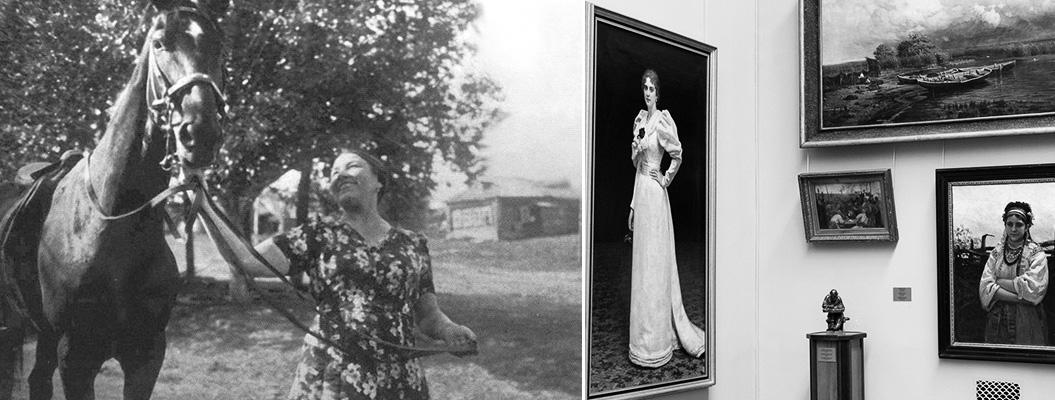 Лидия Русланова стала настоящим специалистом по русской живописи картинка