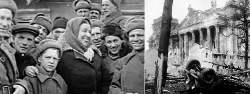 Лидия Русланова и генерал Крюков  картинка