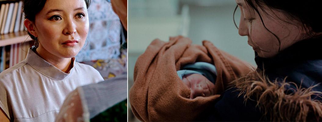Мать-кукушка и ребенок фото
