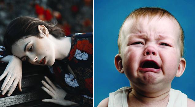 Послеродовая депрессия фото