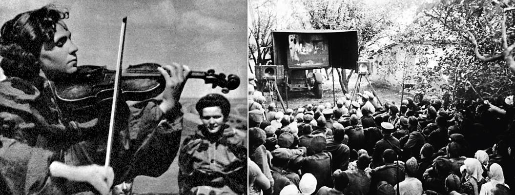 Советское кино в годы войны