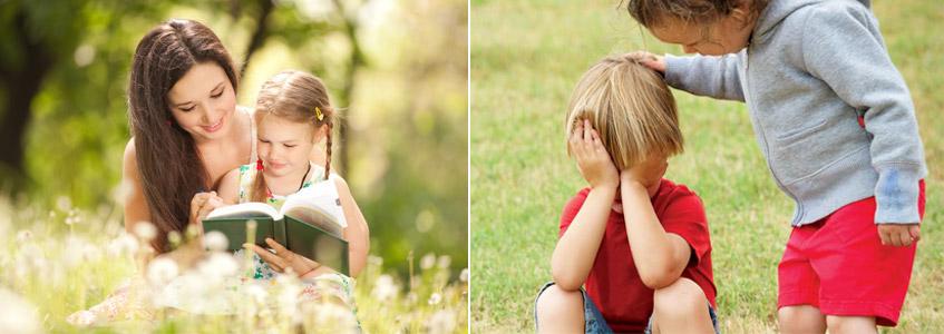 Советы по воспитанию зрительных детей - фото