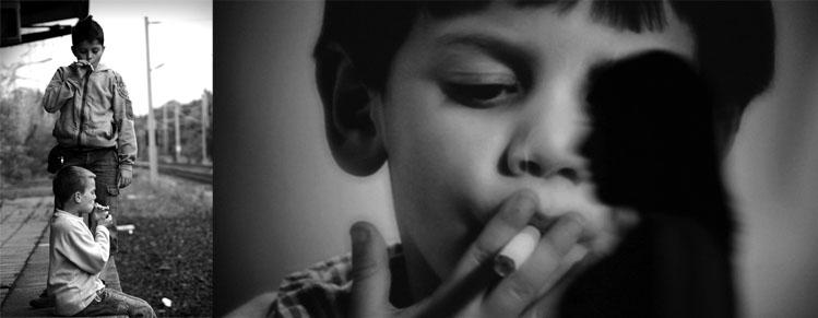 почему дети курят фото