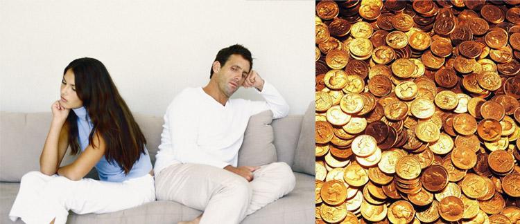 скупой, жадный муж - фото 1